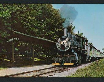 Strasburg Rail Road Postcard - Vintage Color Photo Postcard of Oldest Short Line Railroad in America