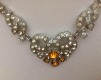 Rare Art Deco Necklace