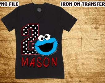 Sesame Street Iron On Transfer , Sesame Street Birthday Shirt DIY , Sesame Street Shirt DIY , Girl Birthday Shirt DIY , Digital File