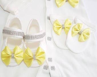 Yellow Princess 4 pieces set