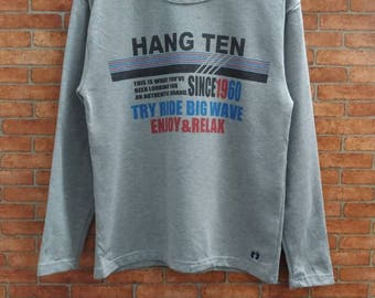 Rare!! Hang Ten Sweatshirt Small Size