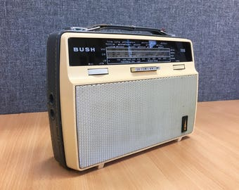 Bush TR116 re-purposed Bluetooth Speaker