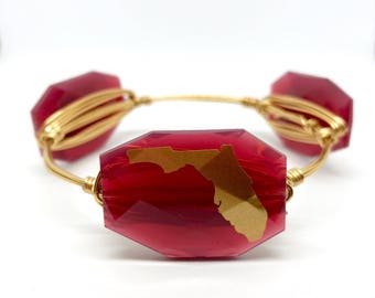 Florida State University bangle bracelet