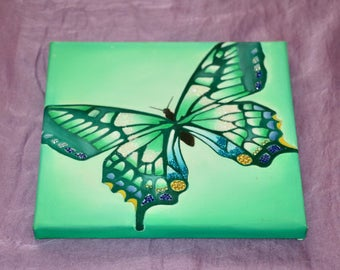 Butterfly oil on canvas