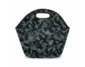 Military Camouflage Lunch Bag
