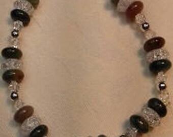 B17013 Tourmaline Elasticated Bracelet