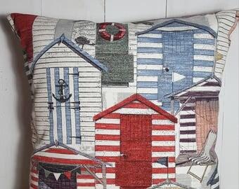 Coastal Cabin,  Pillow Covers, Decorative Pillows, Pillows, Throw Pillows, Home Decor,  Handmade, Beachy,  Indoor Outdoor Fabric