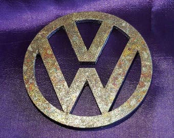 VW MDF Hand Guilded Coaster