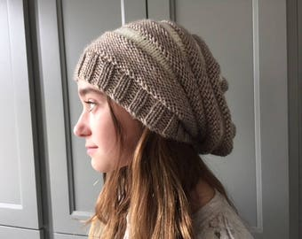 Unisex Accordion Slouchy Hat