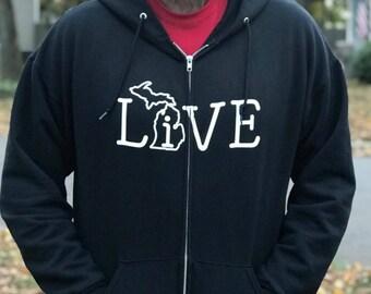 LIVE Michigan hoodie