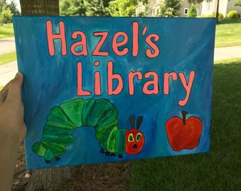 Children's Library Painting