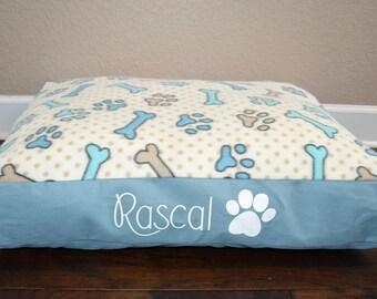 "30"" Personalized Pet Floor Bed"