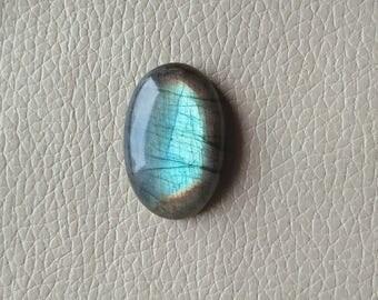 Labradorite Oval Gemstone , Labradorite 01 Pieces Gemstones 52 Carat Weight, Size - 34x23x9 MM Approx. Labradorite Flashy Pendant Stone