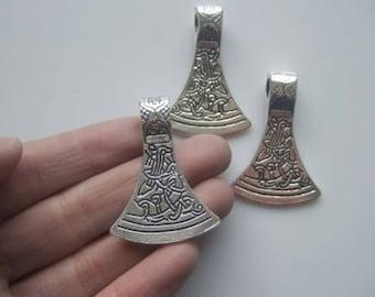 Viking / Celtic Axe  Head Necklace