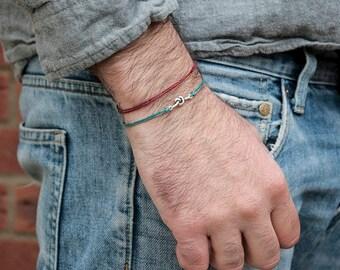 Heart knot bracelet Unisex bracelet for women men Tiny heart knot bracelet Beaded bracelets customized infinity love everyday bracelets love