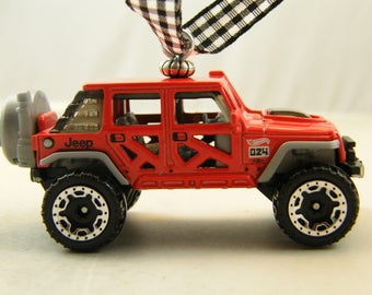 Jeep - FREE SHIPPING - Anytime Ornament - 2017- Wrangler 4X4 - a man cave or she shed must have - Birthday -Fathers Day - dad 17 gift