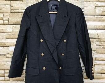 Vintage Burberry Blazer Small Size Jacket