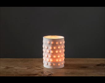 Candle holder Bubblebark - small model