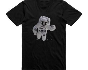 Astronaut Space Man T Shirt