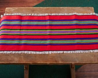 Woven overlay wool stripes Folk Art Polish Poland pasiak