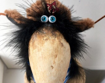 Author's doll of the USSR crow