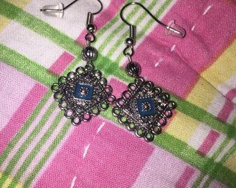 Country earrings