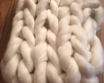 Chunky Wool Infinity Scarf