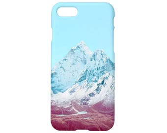 Mountain case for iPhone x case iPhone 8 case 8 plus iPhone 7 case 7 plus iPhone 6s, 6s plus iPhone 6, 6 plus 5, 5s, se,