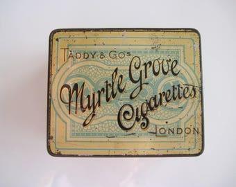 Taddy's Myrtle Grove Cigarette Tin (50) c.1895
