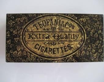 Teofani Extra Quality Cigarette Tin (50/empty) c.1900