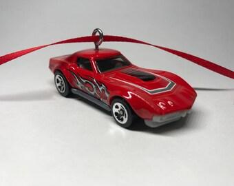 1969 Chevrolet Corvette Hot Wheels Christmas Ornament