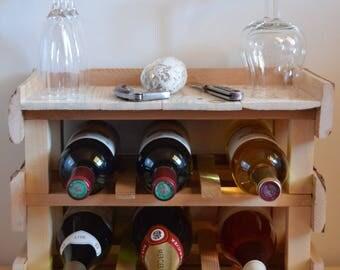 Bottle tray holder
