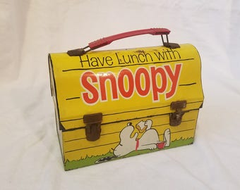 """Snoopy """"Thermos"""" Lunch box"""