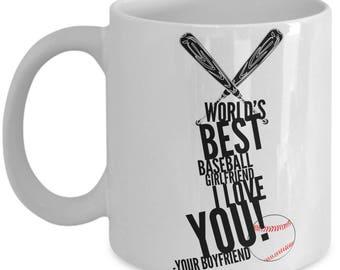 WORLD'S BEST Baseball Girlfriend! Coffee Mug