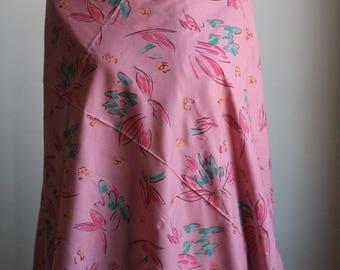 Vintage Blend Fabric 1980s 1970s