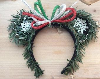 Christmas themed Disney/Mickey/Minnie ears