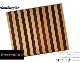The Hamburglar Cutting Board