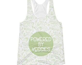 Vegan workout tank top, Vegan Racerback Tank, Women's workout tank, Gym Tank top