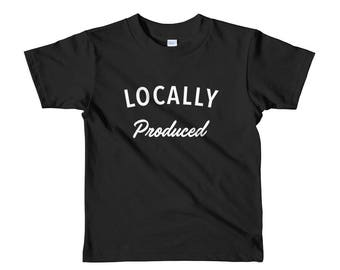 Locally Produced - Short sleeve kids t-shirt
