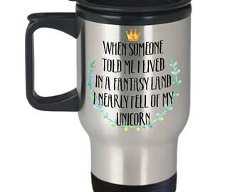 Magical Unicorn Mug, Girls Rainbow Coffee Mugs, I love Unicorns Cup