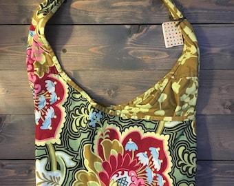 Multi-pocket Floral Purse
