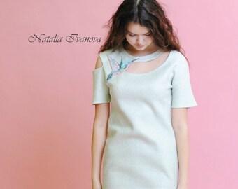 felting dress валяное платье