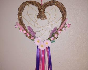 Heart dreamcatcher