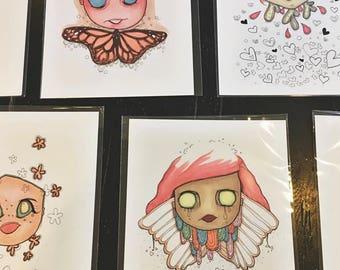 Hand drawn illustration commissions