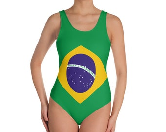 Brazilian One-Piece Swimsuit