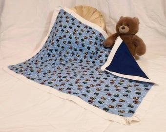 Choo-Choo Train Baby Blanket
