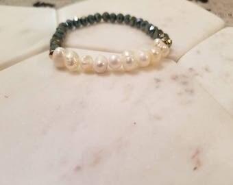 "The ""Pearls of Wisdom"" bracelet"