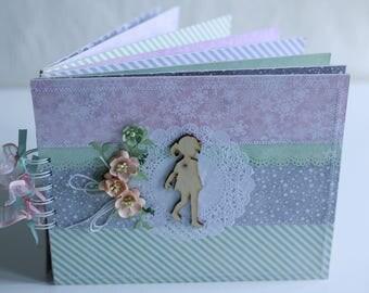 Baby girl present Expecting baby gift Christening present Baby shower gift Grandparents present Baby memory album Baby photo album