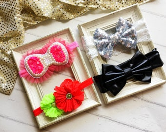 Free Shipping to US and PR,Headbands,Baby,One size,Toddler,Girl,Woman,Bow,Newborn,Soft,Fits all,Infant,Headwrap,Elastic,Foe,Floral,Flower