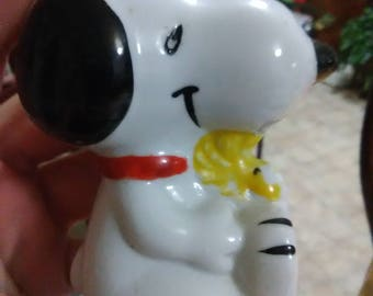 Vintage Snoopy and Woodstock